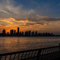 Нью Йорк - закат в цвете :: Nadin