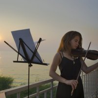 Скрипачка :: Надежда Шульц