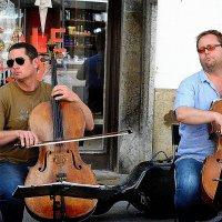 Уличные музыканты :: mihail