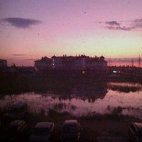 Вид из окна ночью :: Елена *