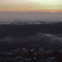 Дачные посёлки на закате дня... :: Александр Попов