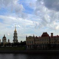 Силуэты Рыбинска :: Александр Алексеев