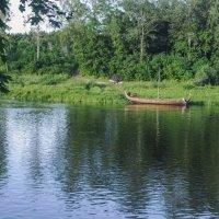 Лодка из сказки :: Alla