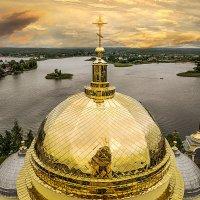 Золотые купола над Селигером. :: Алла ************