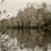Лесное озеро :: Гриша  6х9 или 9х12