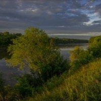 Побережье Клязьмы в первых солнечных лучах. :: Igor Andreev