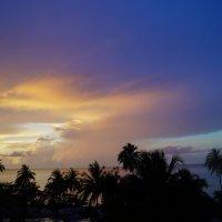 Куба. Закат без фотошопа :: Gal` ka