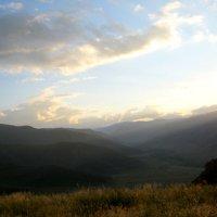 Закат на перевале Чике Таман :: Любовь Иванова