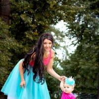 Мама и дочка :: Дарья Труфанова