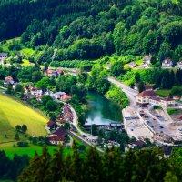 Альпийские деревни :: Сергей Хомич