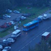 Первый автобус синего понедельника :: Валерий