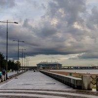 """Вид на стадион """"Зенит-арена"""" :: Виталий"""