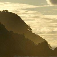 волшебный рассвет, даже баклану на скале нравится :: Anna
