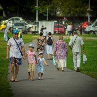На прогулку с папой :: Игорь Герман