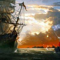 пираты :: галина кинева