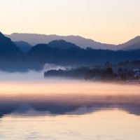 Утро туманное. :: Slava Sh