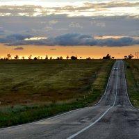 Дорога на закат :: Ольга Голубева
