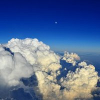 Луна, облака, Солнце :: vg154