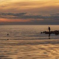 Время проведённое на рыбалке в счёт жизни не засчитывается :: Владимир Колесников