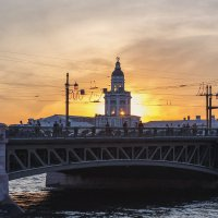 Питерский закат :: Александр Кислицын