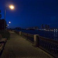 ночь, набережная , фонарь :: Александр Шурпаков