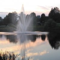 Вечером у фонтана :: Mariya laimite