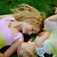 мама и дочка :: Александра Домнина