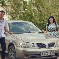 Олежка с женой. :: Юрий Фёдоров