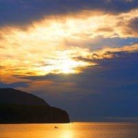 Небо златом море укрывало ! :: Василий Искалеев