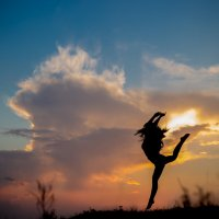 Танец с закатом :: Маргарита