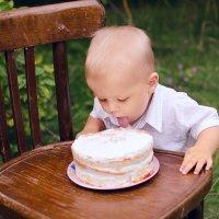 Smash Cake для Захара :: Лина Фонарева