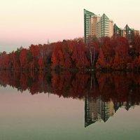вечер на городском озере :: Алиса Колмагорова