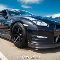 Nissan GT-R :: Мария Малина