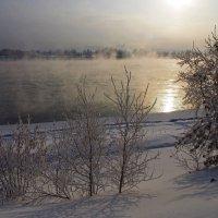 В феврале на Ангаре... :: Александр Попов