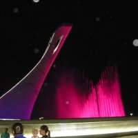 Олимпийский парк. Поющий фонтан :: Надежда