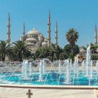Голубая Мечеть (Мечеть Султанахмет). :: Анатолий Щербак