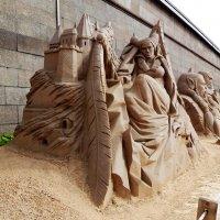 Петропавловская крепость. Выставка песчаных скульптур. :: Виктор Елисеев