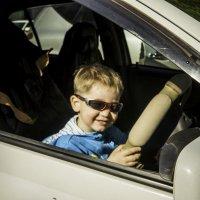 Кирюша, начинающий водитель! :: Ирина Антоновна