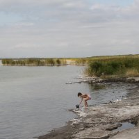 Озеро Мормышанское. Солёное. :: Олег Афанасьевич Сергеев
