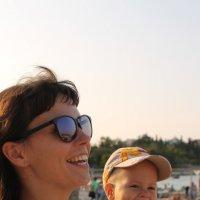 Как я насмешил маму :: Юлия Грозенко