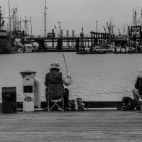В рыбалке гавное - терпение :: Владимир Gorbunov