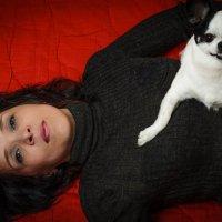 Дама с собачкой :: Василий Ахатов