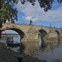 Карлов мост над Влтавой в Праге :: Елена