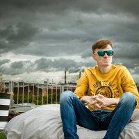 Павел на крыше :: Дарья Гросс