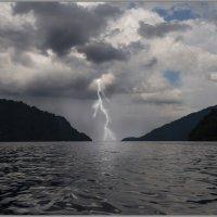 Гроза .... озеро Телецкое. :: Елена Баскакова