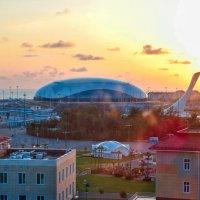 Олимпийский парк( с высоты) :: Zhanna Abramova
