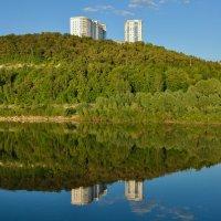 Город Уфа. Вид с реки Белой. :: Сергей Тагиров