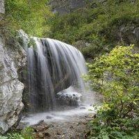 Водопад Чеч-кыш, Алтай :: Сергей Завьялов