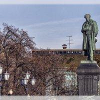 Москва. Памятник А.С.Пушкину. :: В и т а л и й .... Л а б з о'в