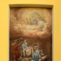 Фреска на северной стороне ротонде церкви :: Александр Качалин